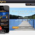 Mobilytrip : carnet de voyage en temps réel