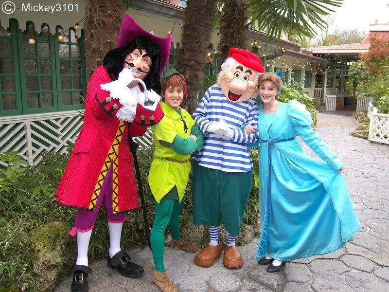 1953 peter pan characters photos blog from disneyland paris beyond - Personnage de peter pan ...