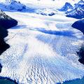 Vue du Glacier en hauteur, Perito Moreno, Patagonie