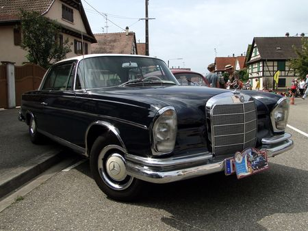 MERCEDES BENZ 300 SE Coupe W112 1964 Lipsheim Retro 2010 1