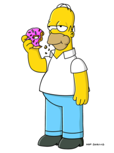 homer_simpson_and_donut_1090