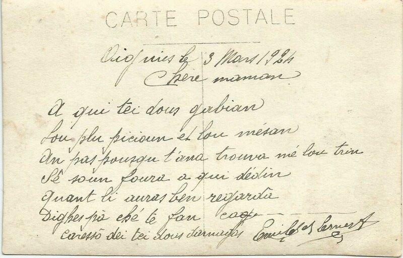 Photo Emile et Ernest Verso