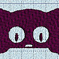 Broderie machine : chat11