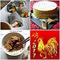 Un menu pour ce week-end : un menu asiatique pour le nouvel an chinois