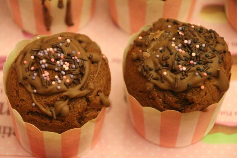 cup cakes choco nutella (1)