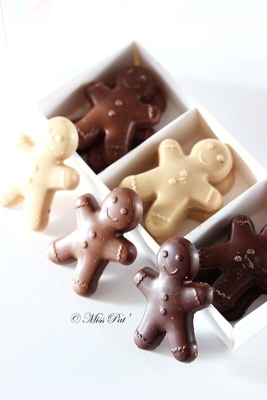 Bonhommes chocolat belledonne miss pat
