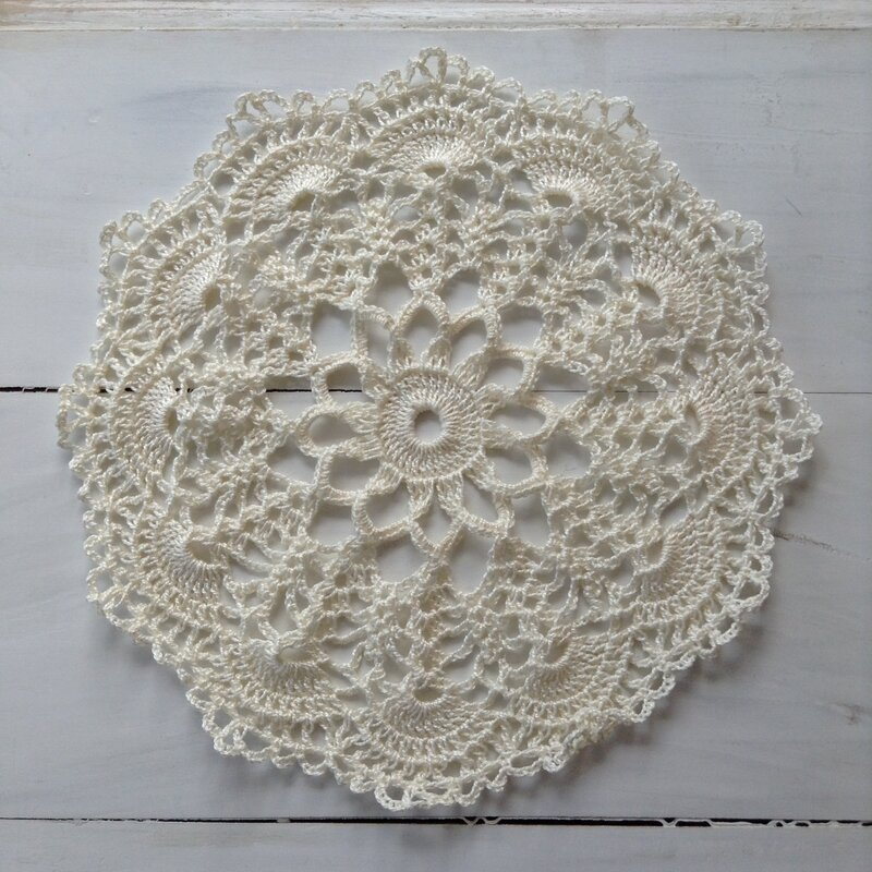 napperon dentelle en crochet