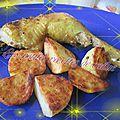 Poulet aux épices cajun et pommes de terre sauté