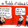Sarkozy, colère, crash, rafale et naufrage ô desespoir