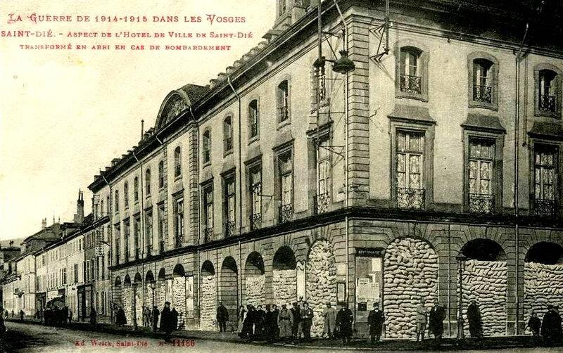 CPA Saint-Dié Hôtel de Ville