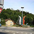 Rond-point à oftringen (suisse)