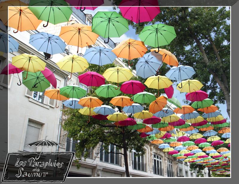 Les parapluies de Saumur_