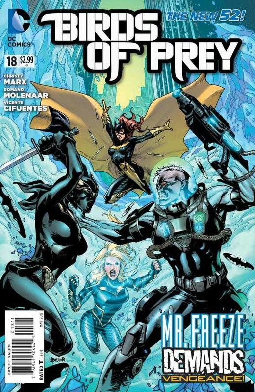 new 52 birds of prey 18