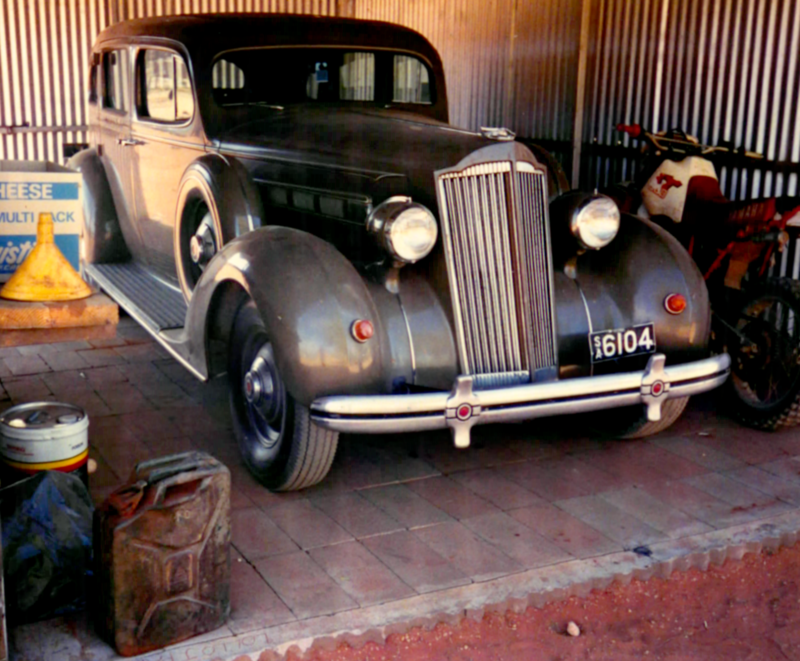 Packard Super-8 1937 - Australie 1989 1