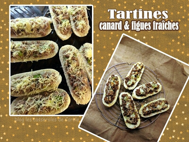 tartine canard figues fraîches (scrap)