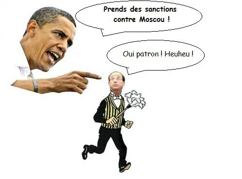 usa oblama humour hollande ps otan russie