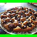 Gâteau aux prunes rouges
