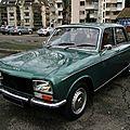 Peugeot 304 s berline, 1973 à 1979