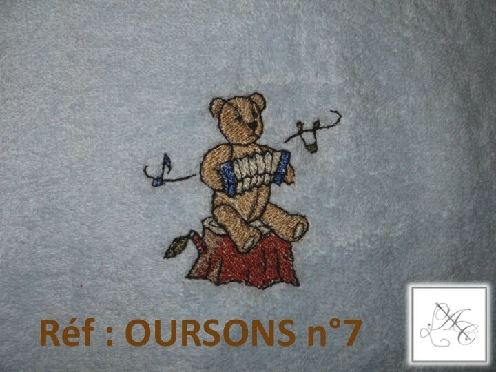 Réf : OURSONS n°7
