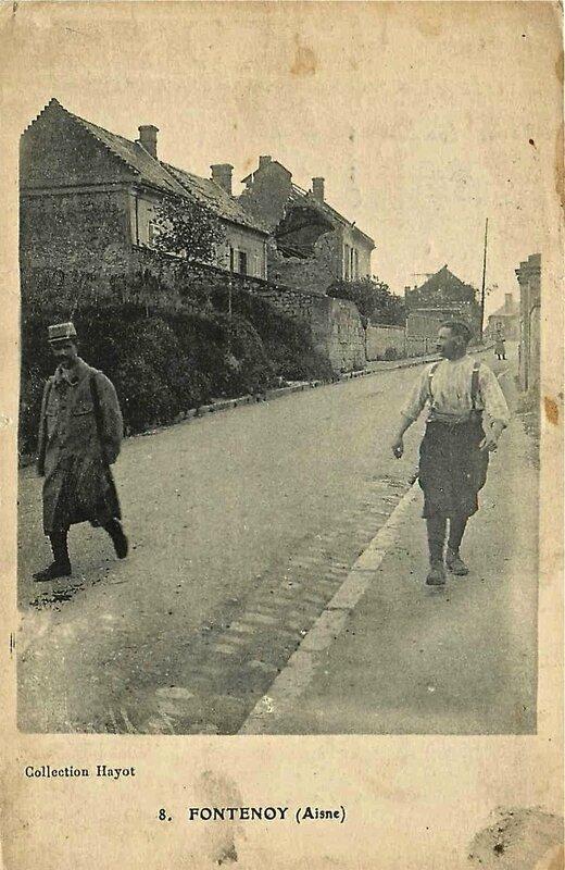 Fontenoy 1915 soldat en perm