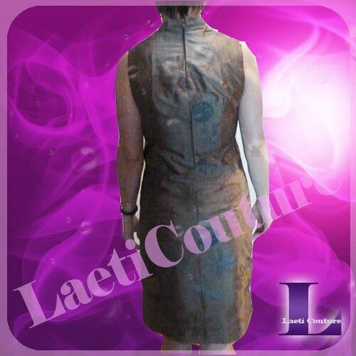 robe en soie brodée3