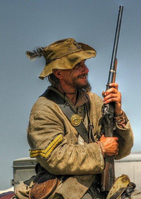 REENACTMENT Confederate Cavalry Corporal