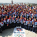 La team gb parade