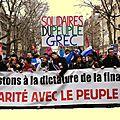 Grèce : halte aux pressions de l'union européenne .