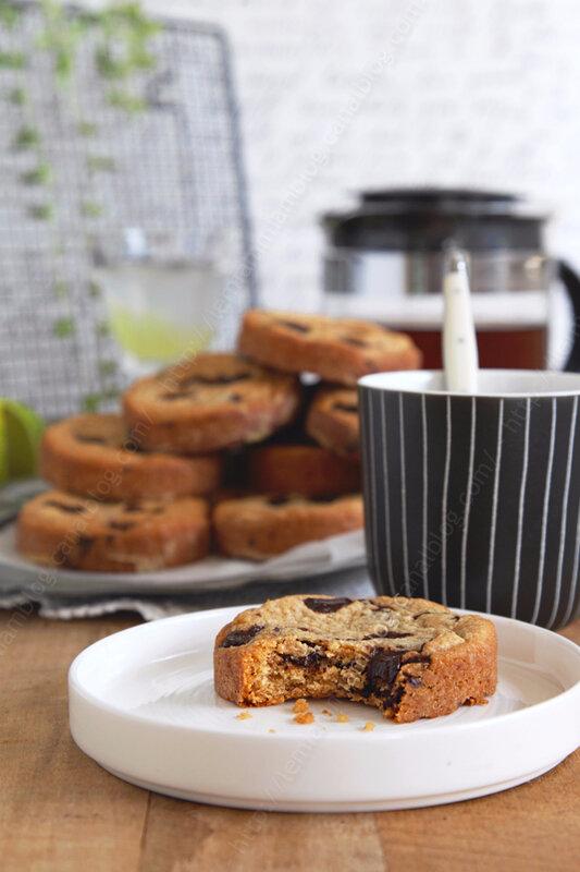 recette de cookies au beurre de cacahuete de Julie Andrieu 00003 LE MIAM MIAM BLOG