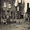 Ypres (Belgique) Ruines