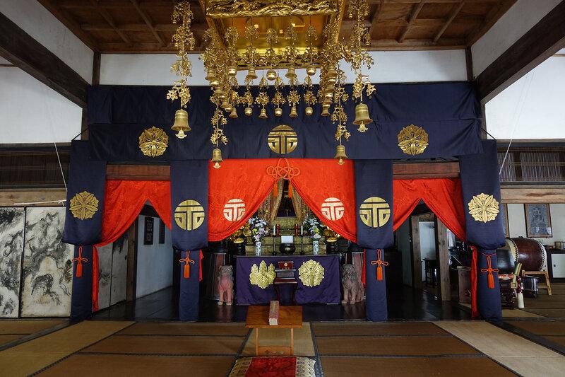 Yômei-ji intérieur