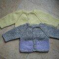 Cadeaux pour bébé surprise #3 les gilets