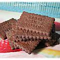 Petits-beurre au cacao