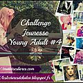 Incription au challenge jeunesse / young adult #4i