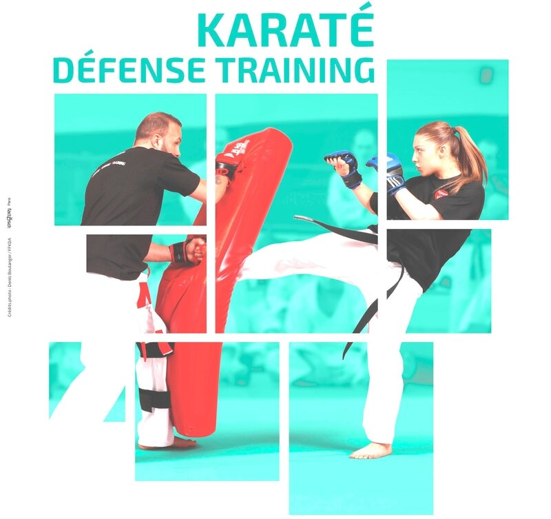 Affiche Portes OUvertes karate_defense_traininG
