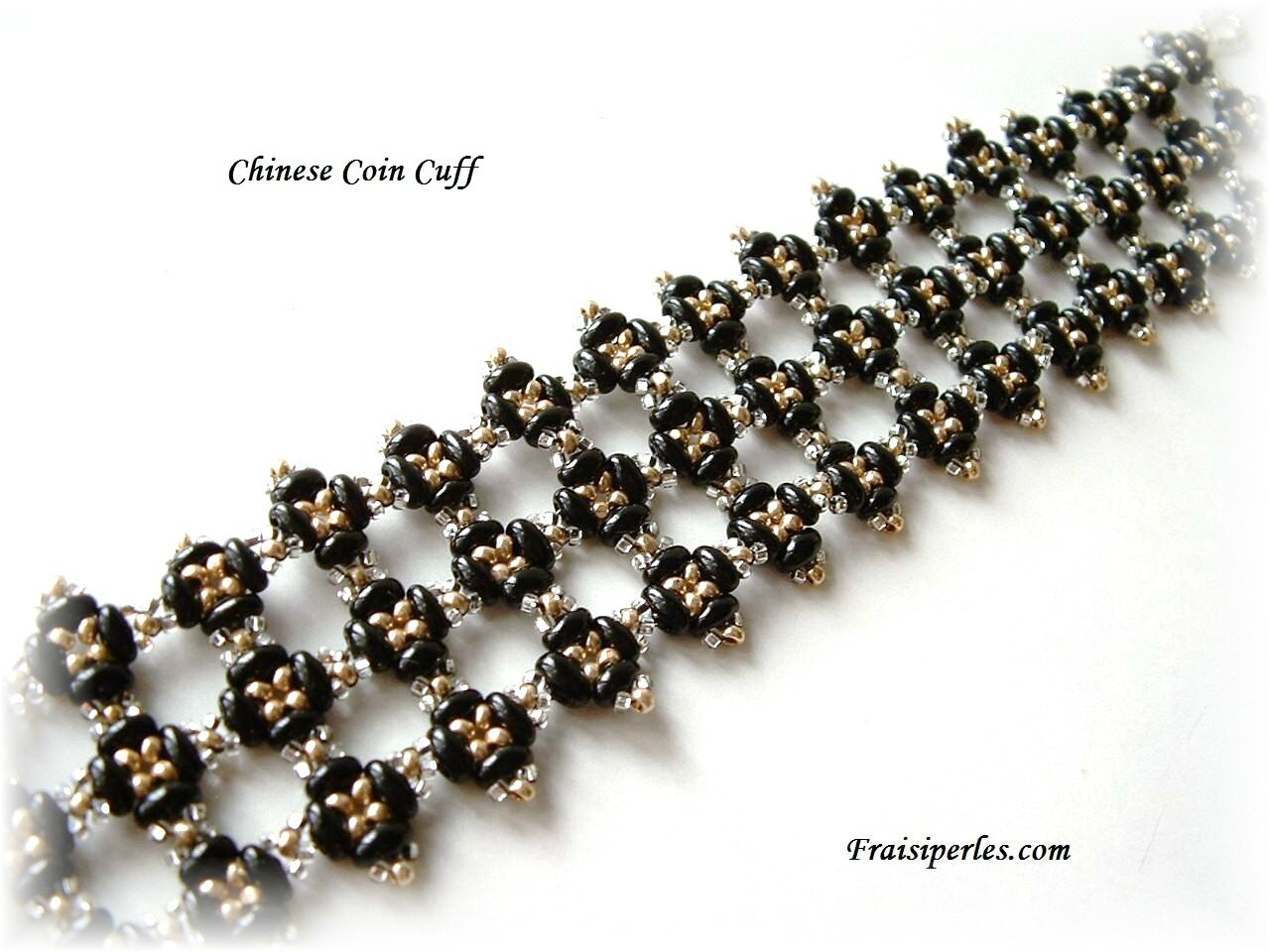 Bracelet Chinese Coin Cuff - Helena Tang-Lim 1