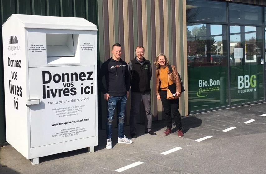 Nord, vous pouvez maintenant déposer vos livres chez Bio Bon Gourmand !
