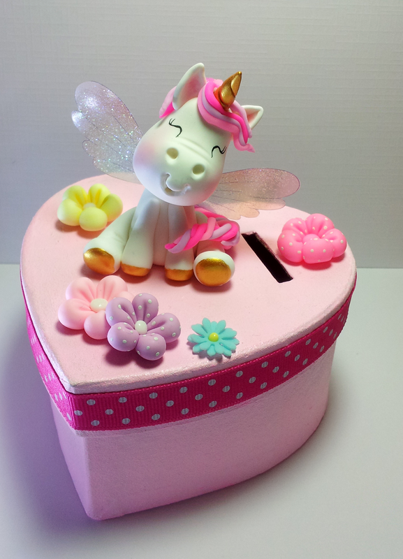 tirelire licorne rose 1