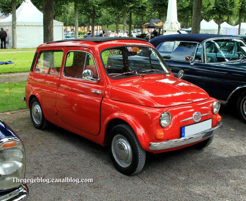 Fiat 500 jardinière (9ème Classic Gala de Schwetzingen 2011) 01