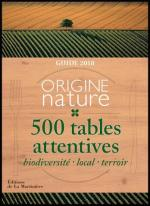 500 tables attentives guide 2018