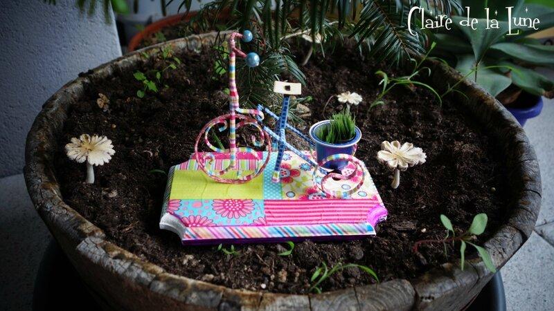 Vélo fil alu 1