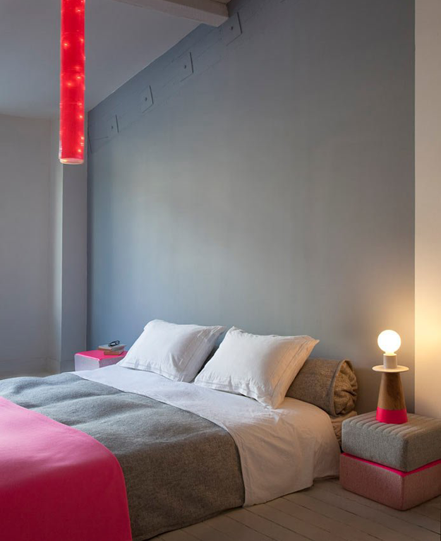 chambre_cocoon_gris_rose_fluo_tricot