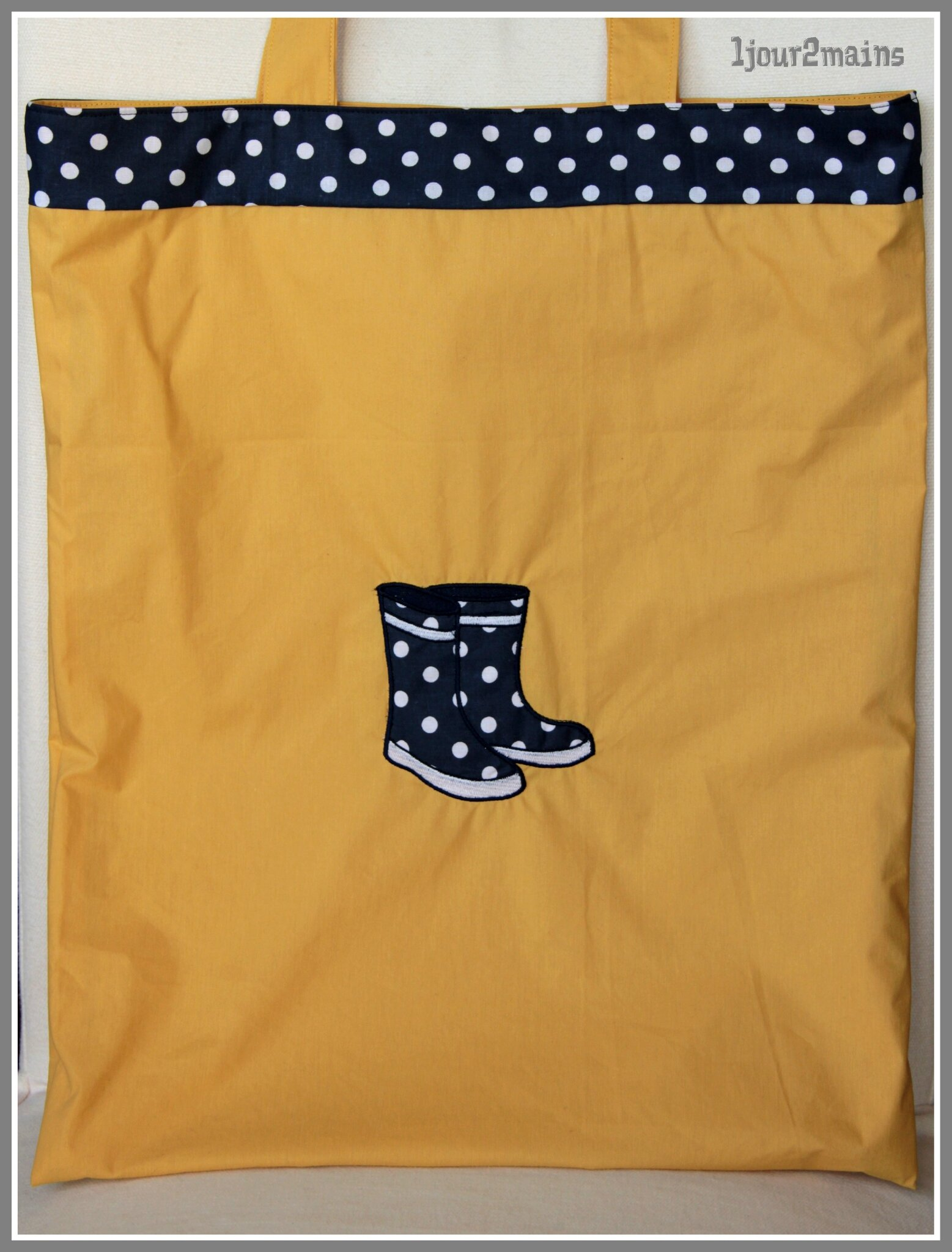 sac bottes jaune2
