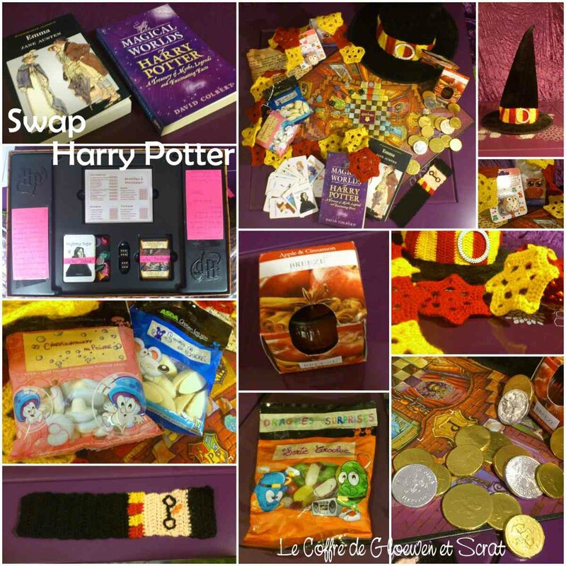 Swap Harry Potter - le colis de Gloewen