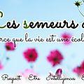 Chez les semeuses-semeurs d'école, de facebook au concret breton !