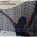 Etole dentelle wisteria