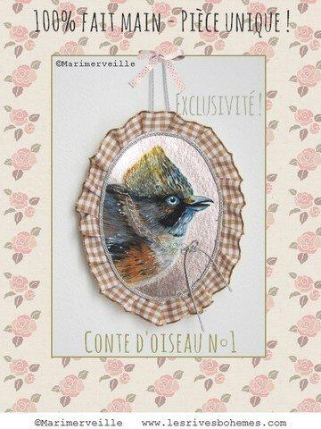 Conte d'oiseau N° 1 ©Marimerveille