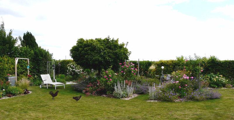 Le jardin de Marguerite Rose