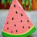 Une piñata pastèque (diy)