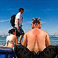 scène de plage, Porquerolles